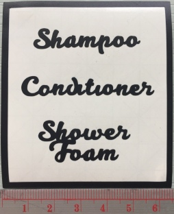 Bathroom Labels (b)