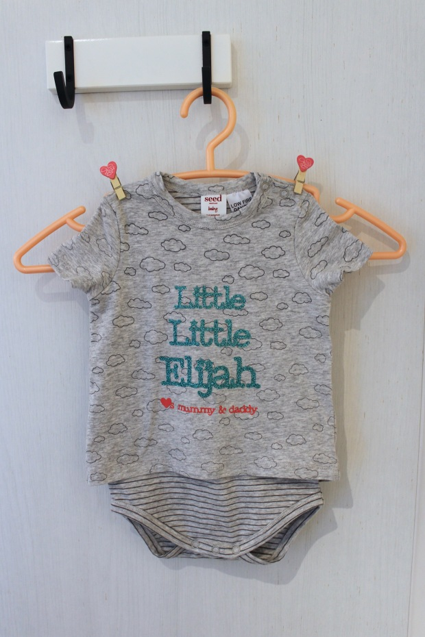 Customised Baby romper