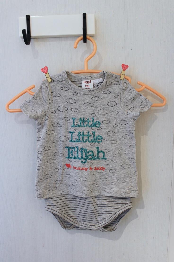 Customised Baby romper