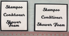 Bathroom Labels @ $3.90 each