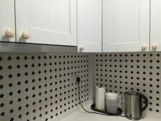 decoupage kitchen cabinet knobs