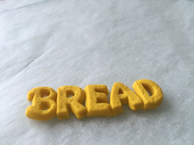 Polymer Clay Bread Label