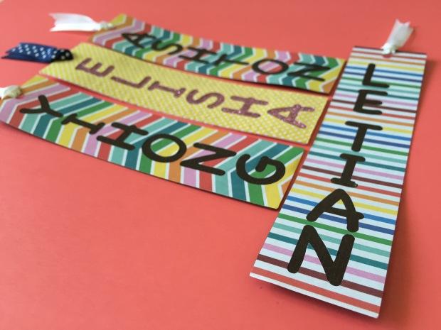 rainbow-pokka-dot-bookmarks