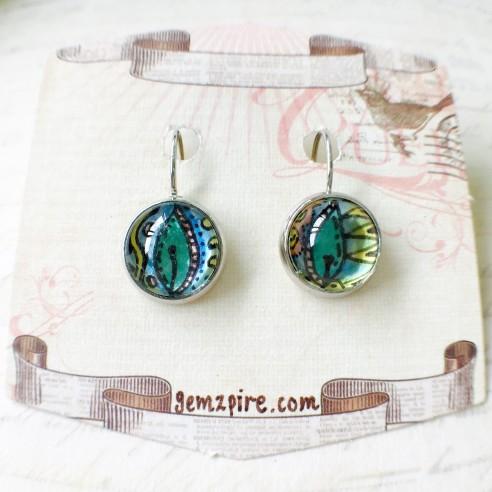 Vibrant Dangling Earrings @ $9.90