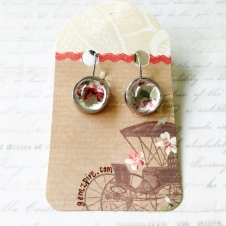 Vintage Floral Earrings @ $9.90