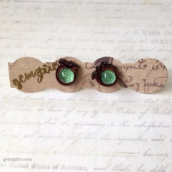 Apple of my Eye Earrings @ $10.90 (SOLD)