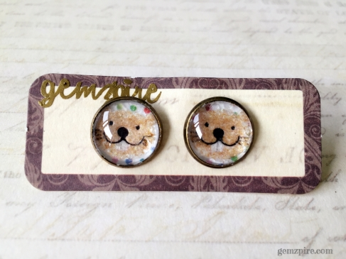 Beaver Earrings @ $12.90