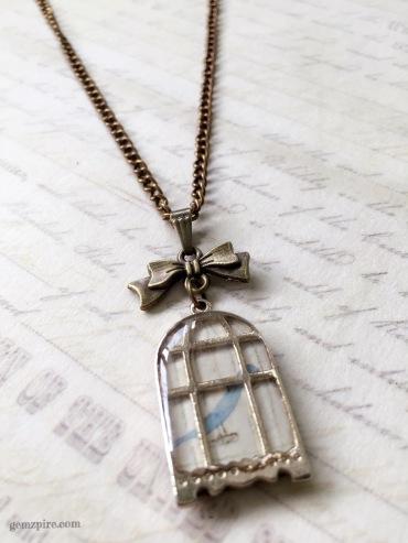 Blue Bird Necklace @ $15.90