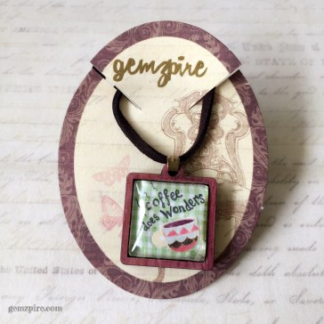 Coffee Does Wonders Necklace @ $16.90