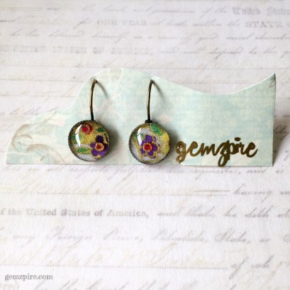 Kimono Inspired Dangling Earrings @ $11.90 (SOLD)