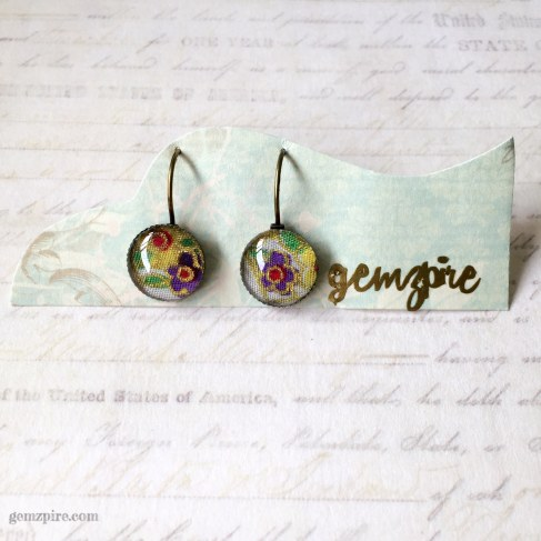 Kimono Inspired Dangling Earrings @ $11.90 (SOLD)
