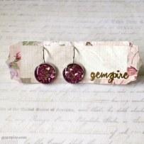 Dazzling Pink Dangling Earrings @ $12.90 (SOLD)