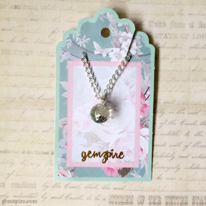 Glitter Ball Necklace @ $15.90 (SOLD)
