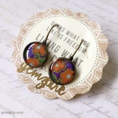 Kimono Inspired Dangling Earrings @ $11.90
