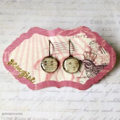 Music to my Ears Dangling Earrings @ $11.90