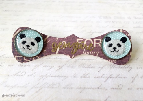 panda-earrings