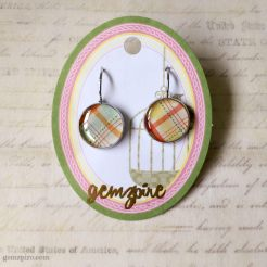 Patterned Dangling Earrings @ $12.90 (SOLD)
