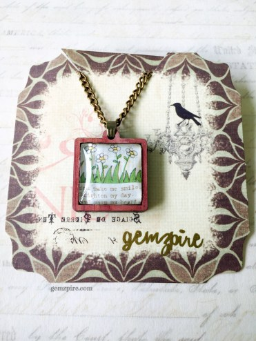 You Make Me Smile Necklace @ $18.90 (SOLD)